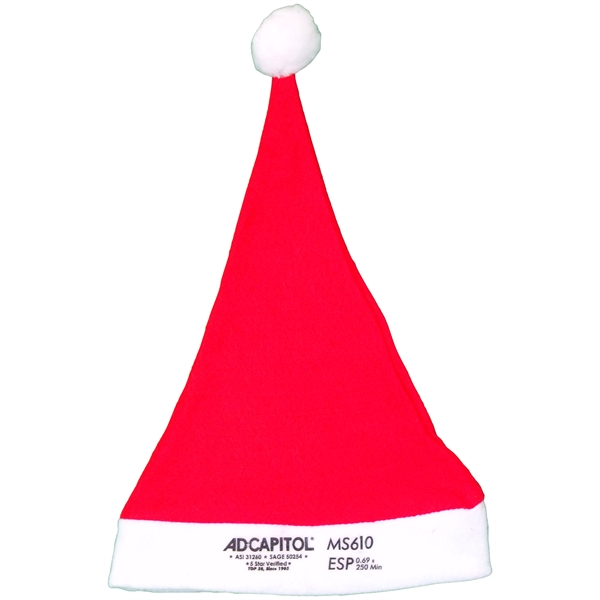 Item #MS610 Import Ball Santa Cap