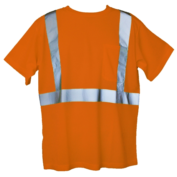 Item #SFT03 Orange 2XL/3XL Short Sleeve Hi-Viz Safety T-Shirt