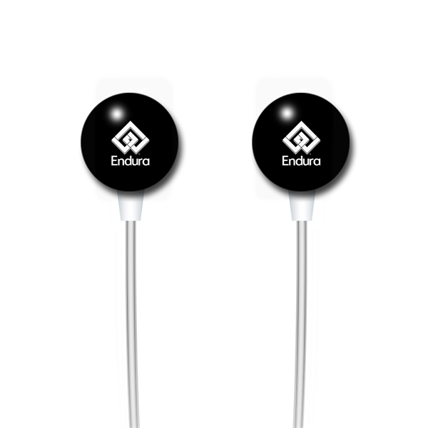 Item #86114 Ear Candy Earbuds - Round Shape