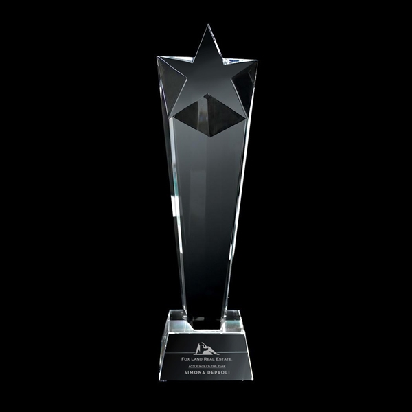 Item #DY-2061 Crystal Star Trophy - Large