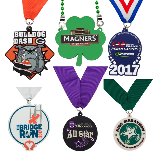 Custom PVC Medals and Medallions
