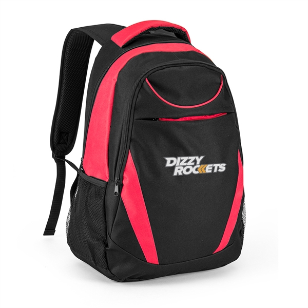 Item #B-7456 Deluxe Poly Padded Computer Backpack