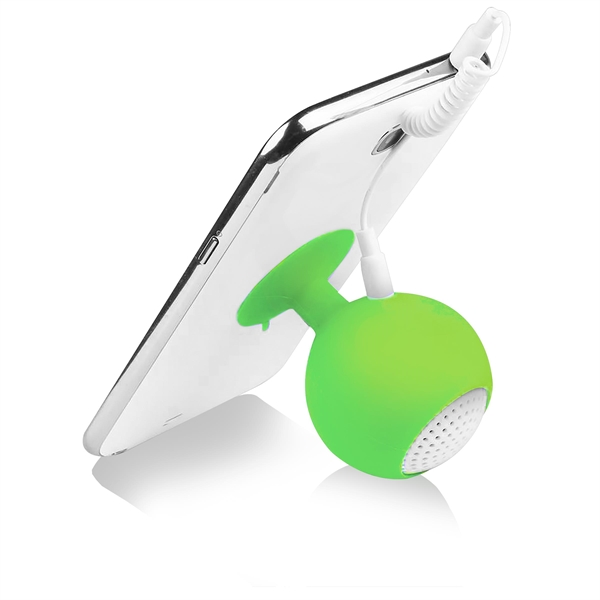 Item #1914 Suction Bubble Stand Speaker