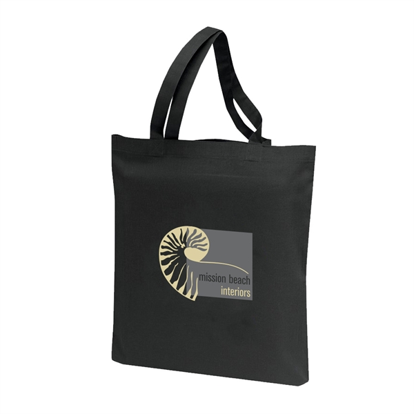 Item #B-8201 Cotton Shopping Tote Bag