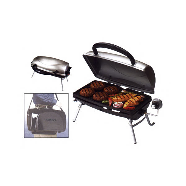 Nice Item #GP160A Bla George Foreman (R) Tailgater   Portable Outdoor Propane  Grill, Features 160 Square Inches Of Cooking Surface.