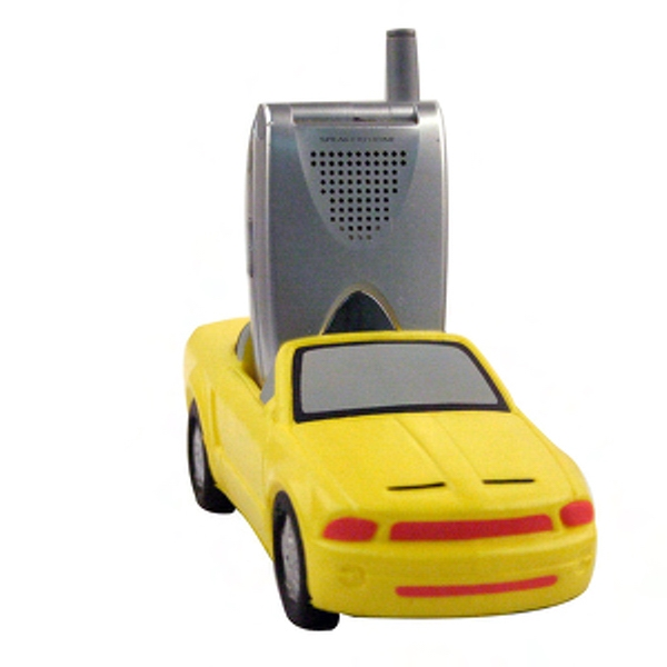 Sports car shaped cell phone or remote control holder