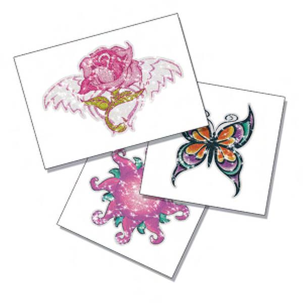 Custom design glitter temporary tattoo for Custom temporary tattoos no minimum