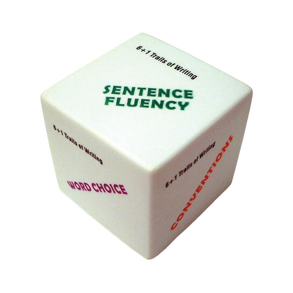 Item #MCS-21 Cube Shaped Stress Reliever