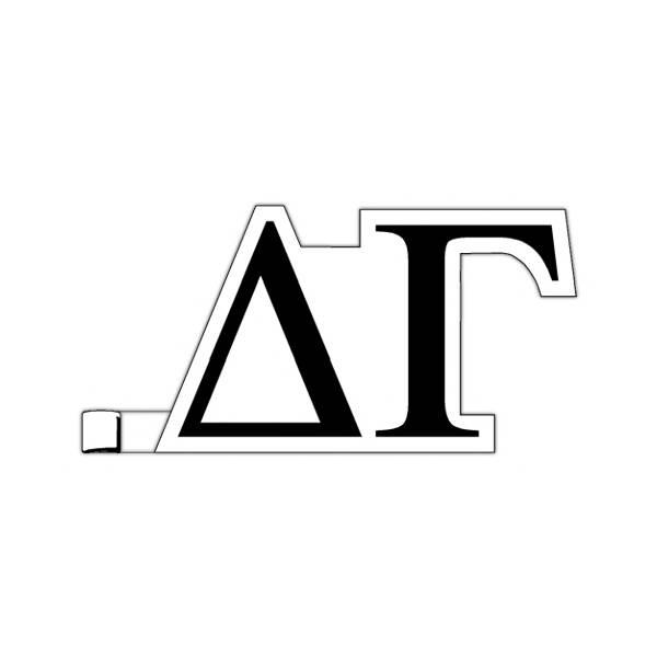 greek letters delta gamma plastic greek letter shaped With plastic greek letters