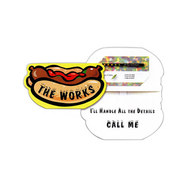 Hot dog shaped sound business card item 902001 imprintitems item 902001 hot dog shaped sound business card colourmoves
