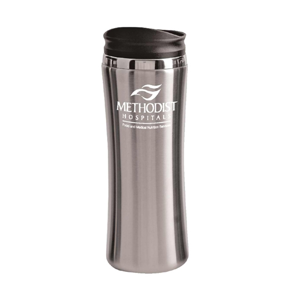 Item #LAGUNA14 14 oz. stainless steel tumbler w/painted body