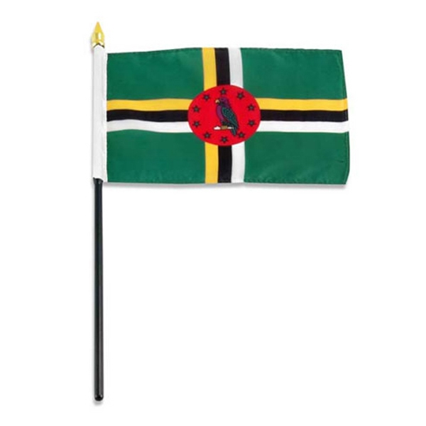 Item #Flag 4x6 DOMI Country Flag