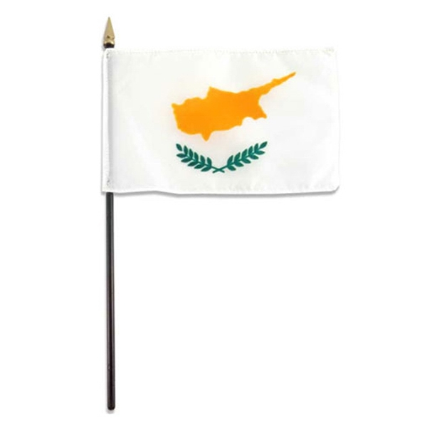Item #Flag 4x6 CYPR Country Flag