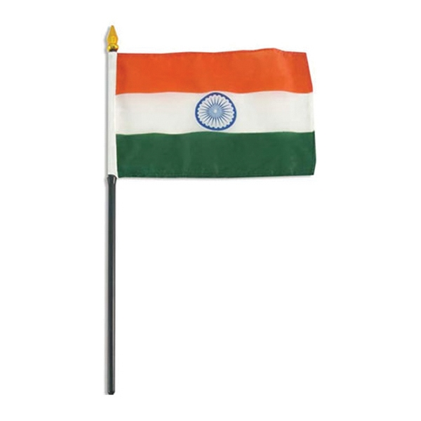 Item #Flag 4x6 INDIA Country Flag