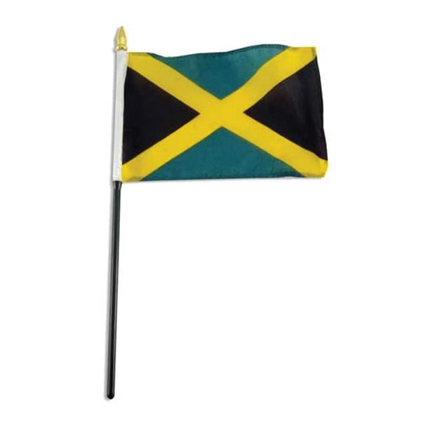 Item #Flag 4x6 JAMA Country Flag
