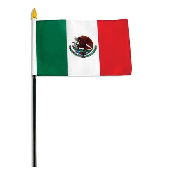 Item #Flag 4x6 MEXIC Country Flag