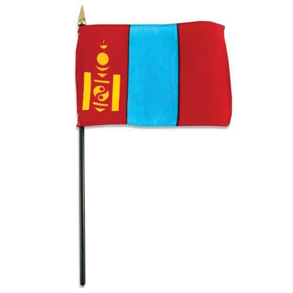 Item #Flag 4x6 MONG Country Flag