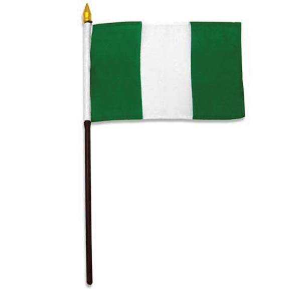 Item #Flag 4x6 NIG Country Flag