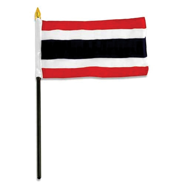 Item #Flag 4x6 THAI Country Flag