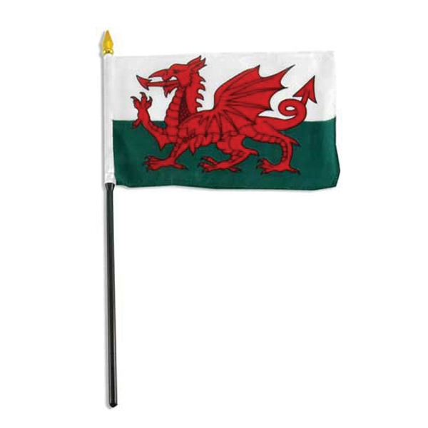 Item #Flag 4x6 Wales Country Flag