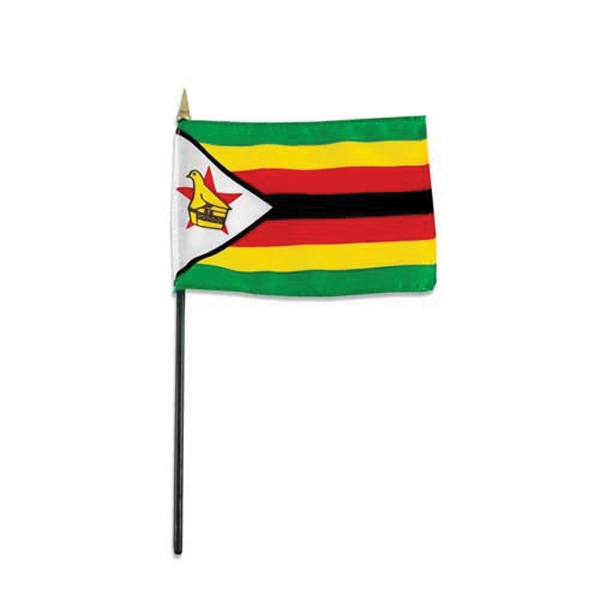 Item #Flag 4x6 ZIMB Country Flag