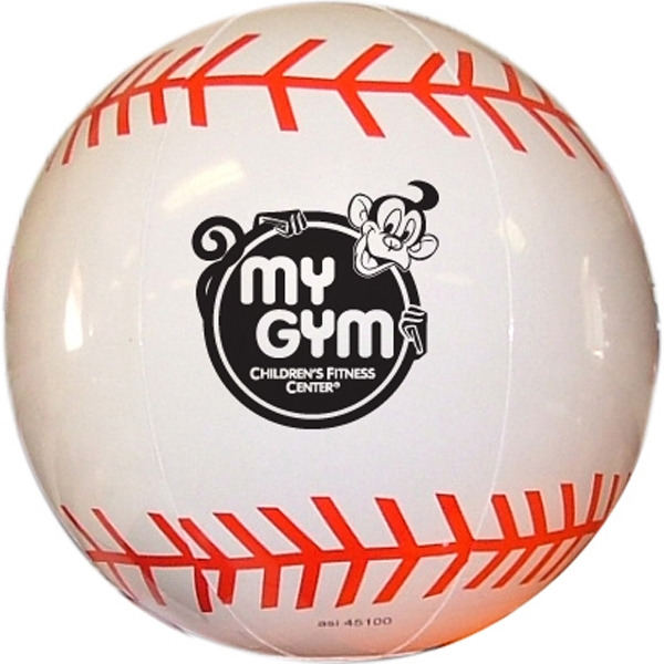 "Item #BASEBALL 620 Inflatable Baseball 16"" - E620"