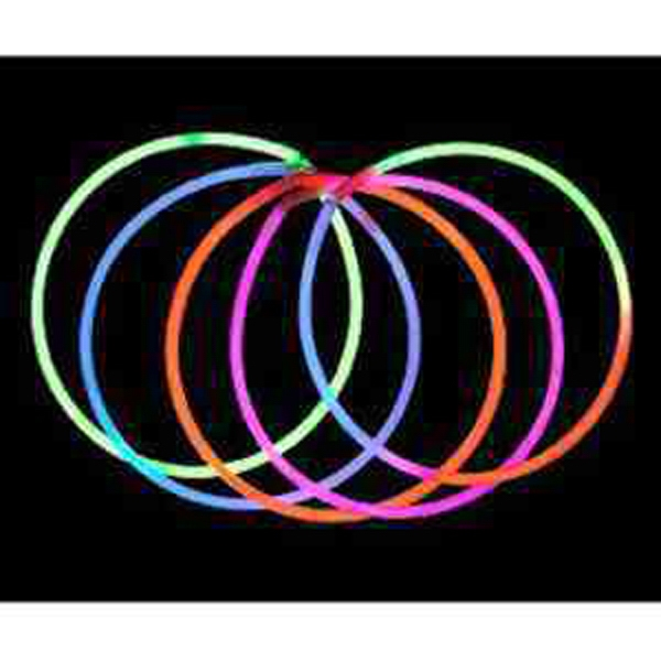 "Item #GLOW PARTY 500 Glow Necklace 22"", Light Up - E500"