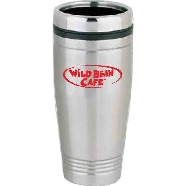 Item #SM315 Portola - 16 oz Stainless Steel Tumbler