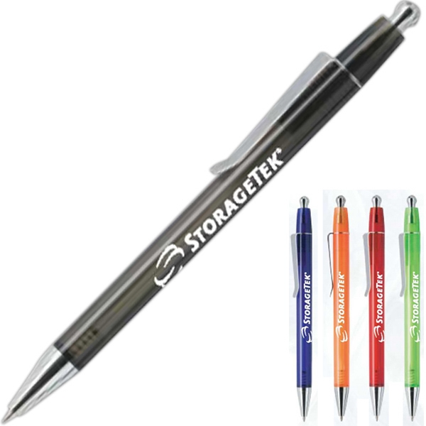 Item #P139 Retractable ballpoint pen with slim body