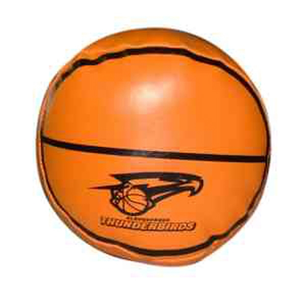 "Item #BALL 663BK Soft & Squeezable Basketball, 4"" - E663BK"