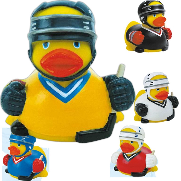Item #AD-1080 Rubber hockey duck