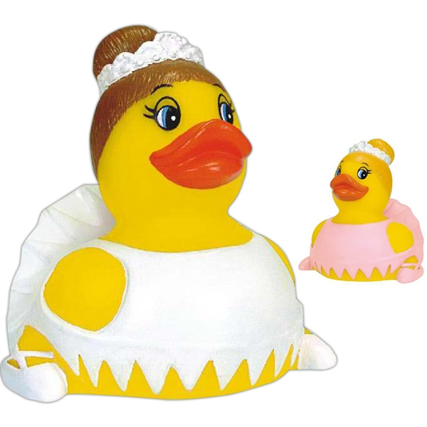 Item #AD-6004 Rubber ballerina duck