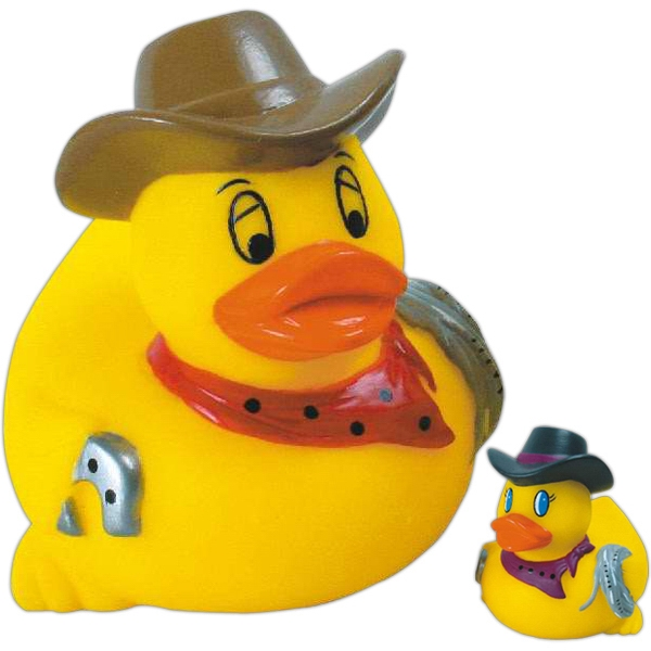 Item #AD-1001 Rubber rodeo duck