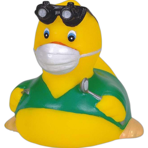 Item #AD-6005 Rubber dentist duck