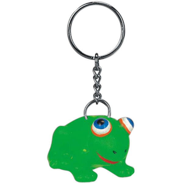 Item #AD-5031K Frog key chain