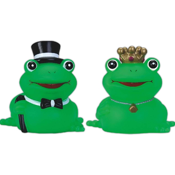 Item #AD-3107 Rubber Prince Charming frog
