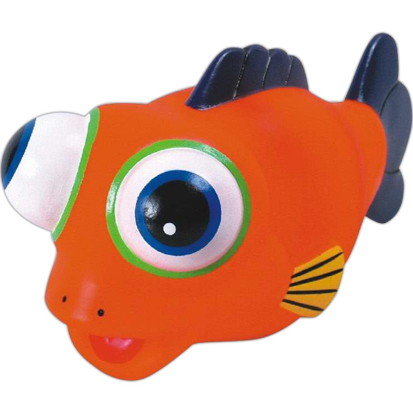 Item #AD-1019 Rubber fish toy