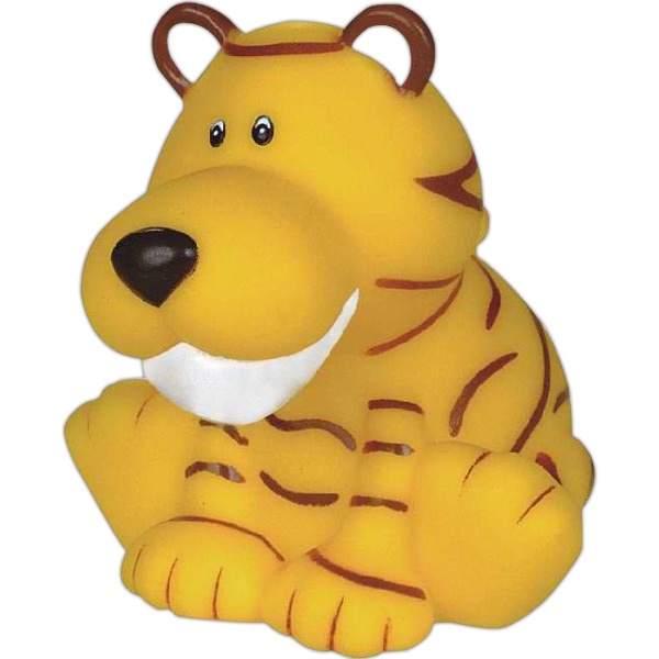 Item #AD-7061 Rubber tiger toy