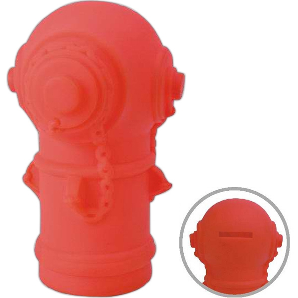 Item #AD-3100 Fire hydrant coin bank