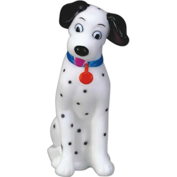 Item #AD-3128 Rubber dalmation toy