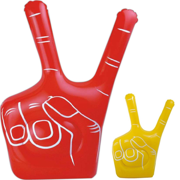 Item #AB-1050 Inflatable victory hand
