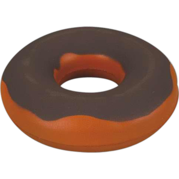 Item #SB-5117 Brown donut stress reliever