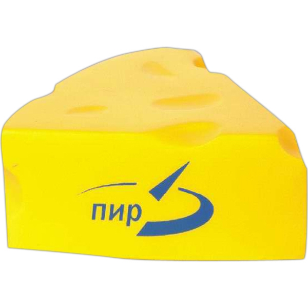 Item #SB-8007 Cheese slice stress reliever