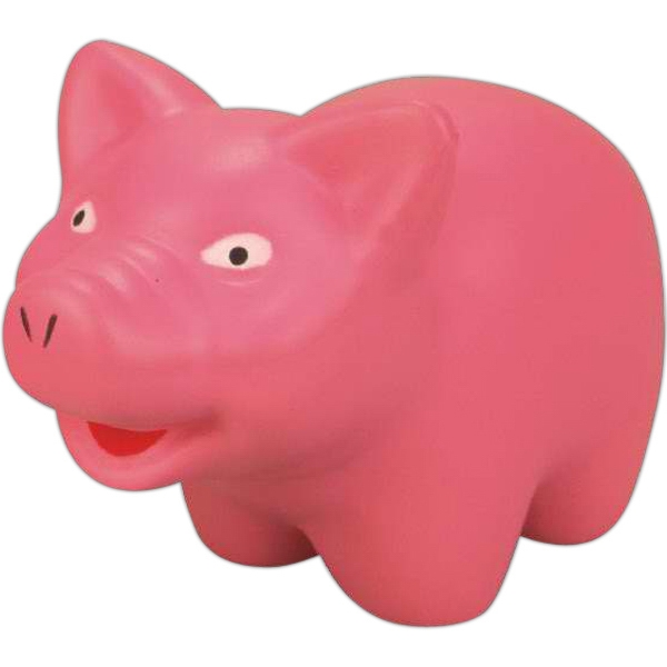 Item #SB-5091 Pig shaped stress reliever