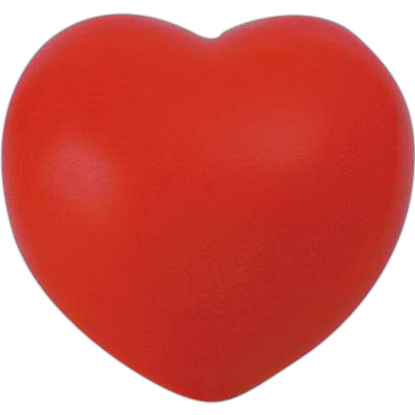 Item #SB-6990 Heart shaped stress reliever