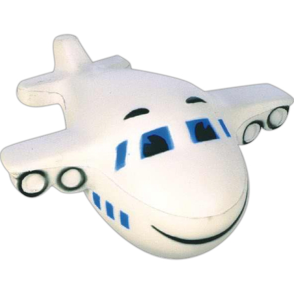 Item #SB-8014 Airplane shaped stress reliever