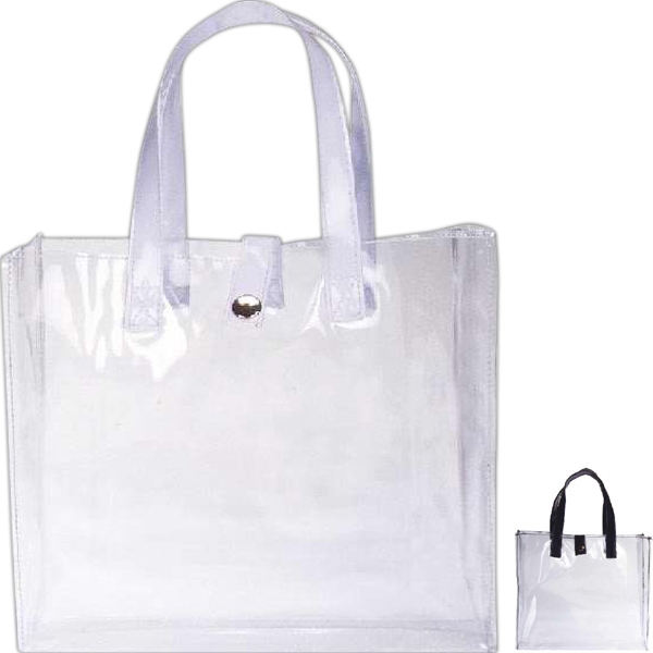 Item #AW-077 Clear weekender bag