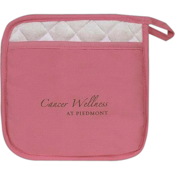 Item #AO-0128 Pink pot holder