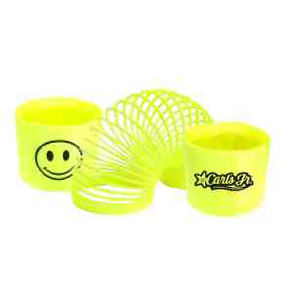 Item #PUZZLE 665 SML Smile Face Fun Coil Spring -SMALL