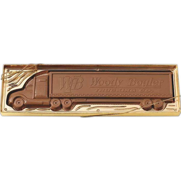 Item #Truck 2.5 2.5 oz. truck shape molded chocolate